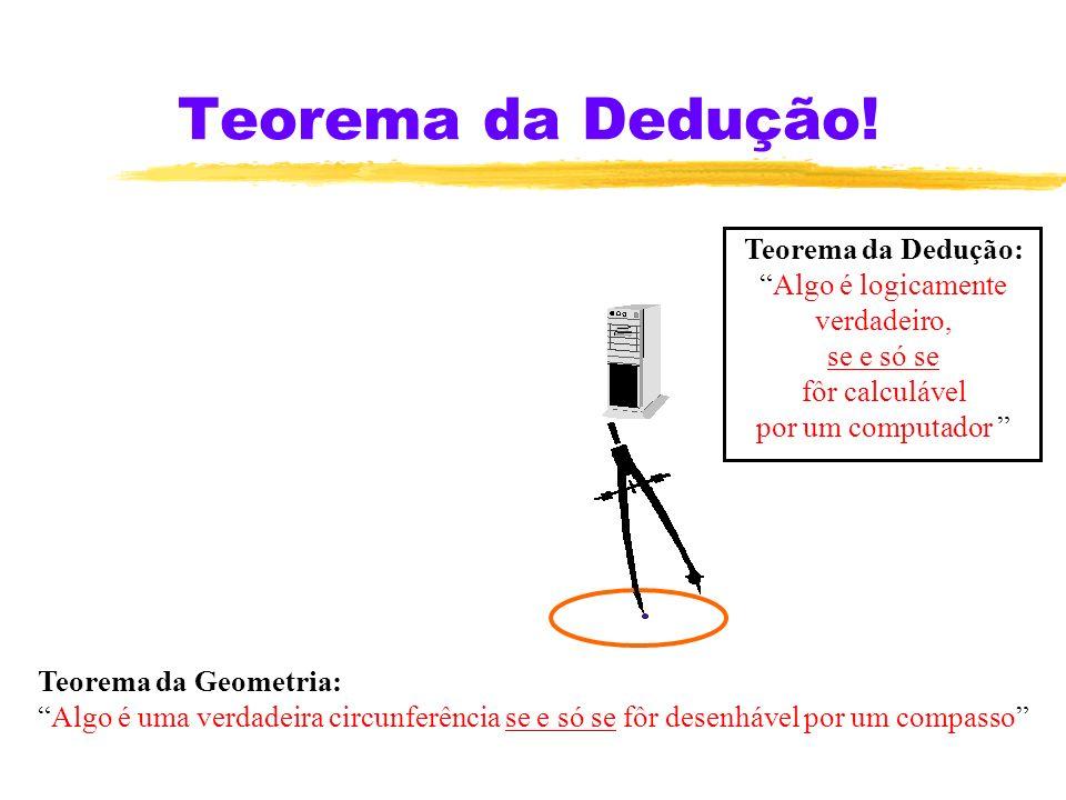 Teorema da Dedução.