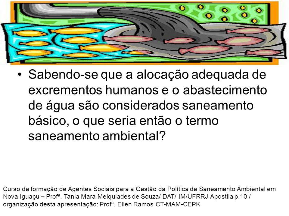 COLETA, TRATAMENTO E DISPOSIÇÃO ADEQUADA DE ESGOTO GRUPO 1 GRUPO 1 Quem é responsável pela coleta, tratamento e disposição de esgoto do município.