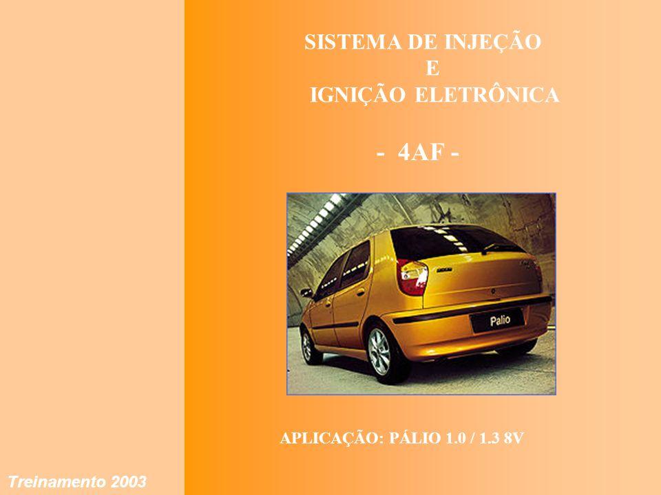 Treinamento 2003 IAW 4AF SISTEMA DE INJEÇÃO E IGNIÇÃO ELETRÔNICA - 4AF - APLICAÇÃO: PÁLIO 1.0 / 1.3 8V Treinamento 2003