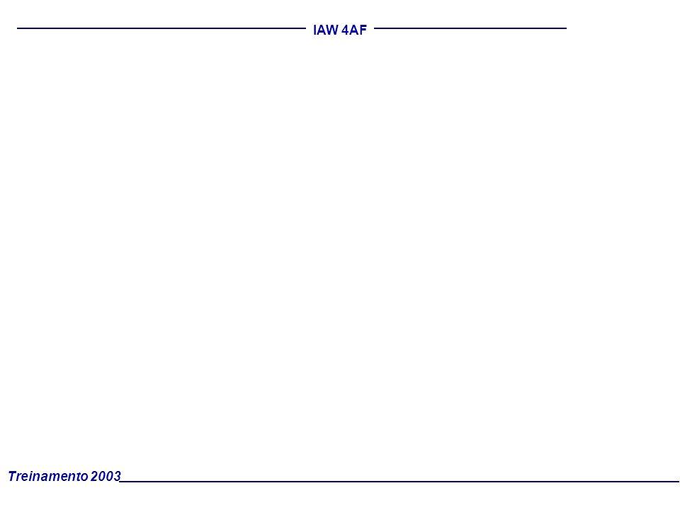 Treinamento 2003 IAW 4AF