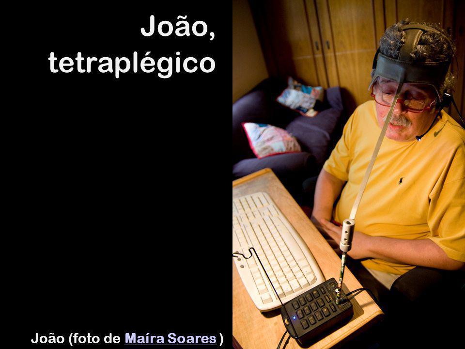 João, tetraplégico João (foto de Maíra Soares )Maíra Soares