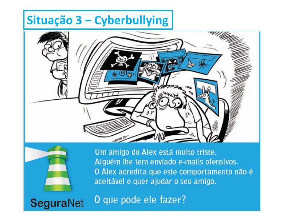 Situação 3 – Cyberbullying