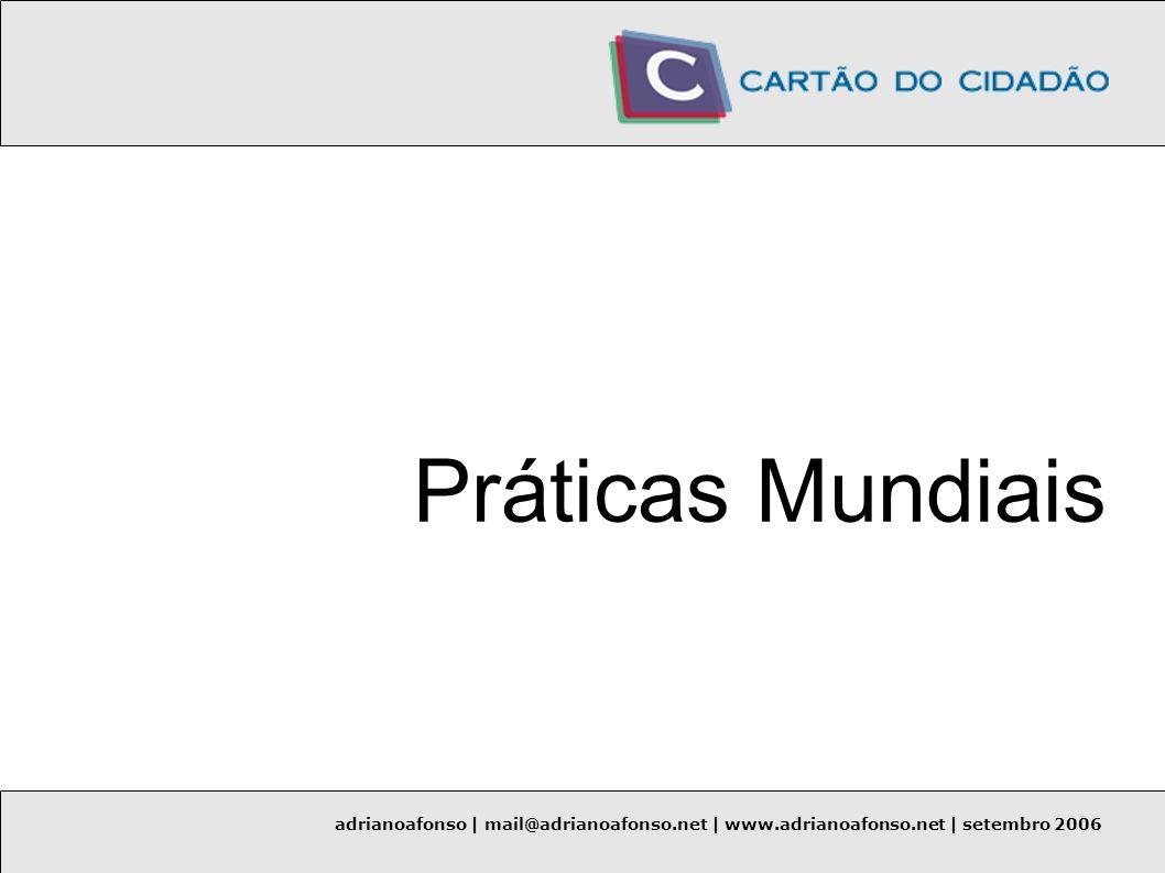 adrianoafonso | mail@adrianoafonso.net | www.adrianoafonso.net | setembro 2006 Infra-estrutura de Chaves Públicas (PKI) RFC 3647: Internet X.509 Infra-estrutura de Chaves Públicas – Políticas de Certificados e Declaração de Pratica de Certificados.