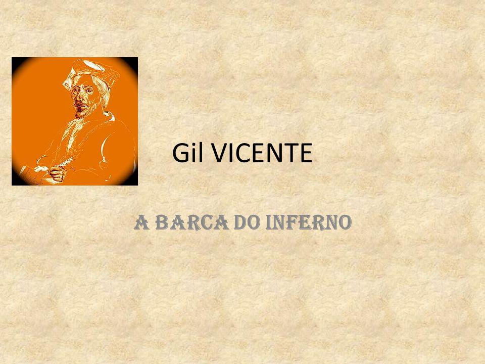 Gil VICENTE A BARCA DO INFERNO