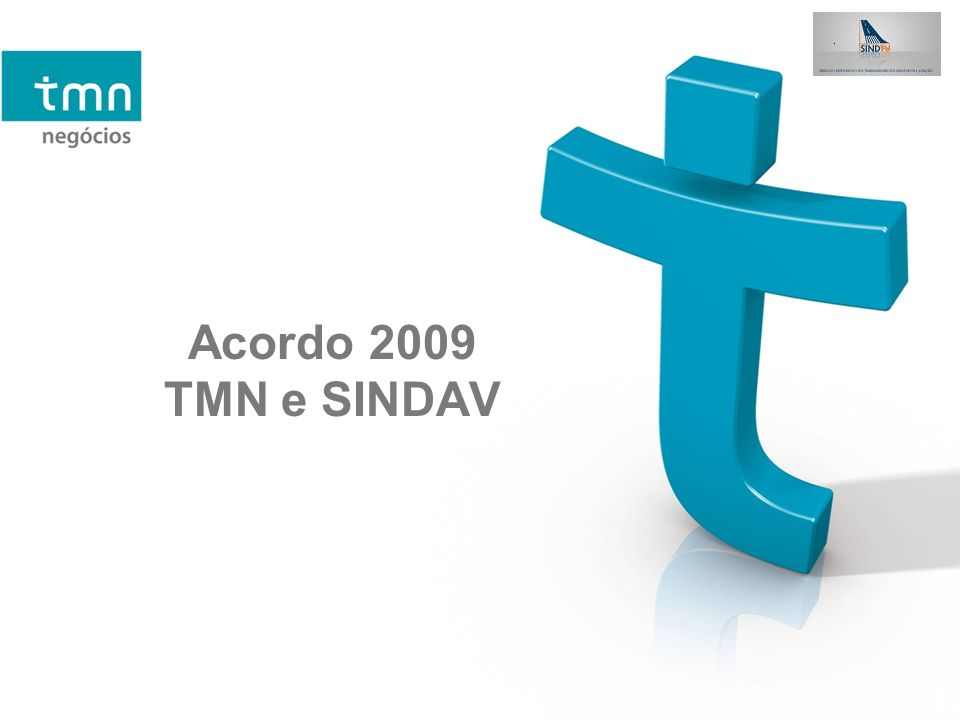 Acordo 2009 TMN e SINDAV