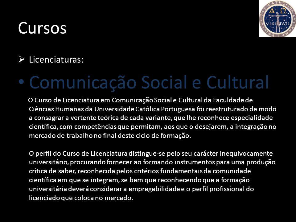 A faculdade A Universidade Católica constitui uma presença no mundo universitário português que se caracteriza por uma visão cristã do homem, dando um