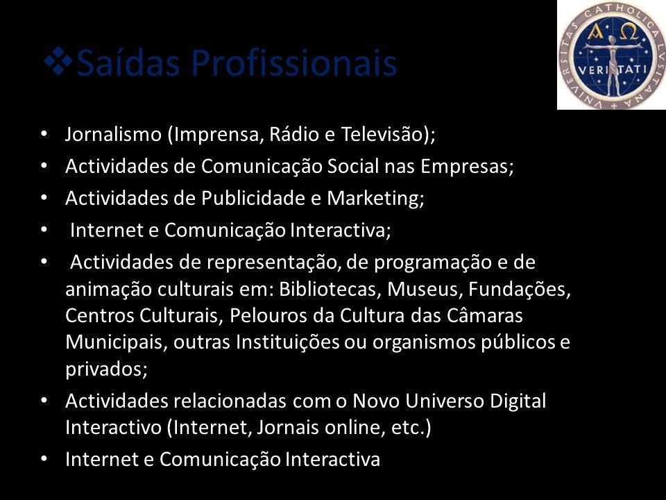 Condições de acesso Provas específicas: Português ou Inglês ou História Média de entrada: 9,5 valores (A nota de candidatura resulta da soma da classi