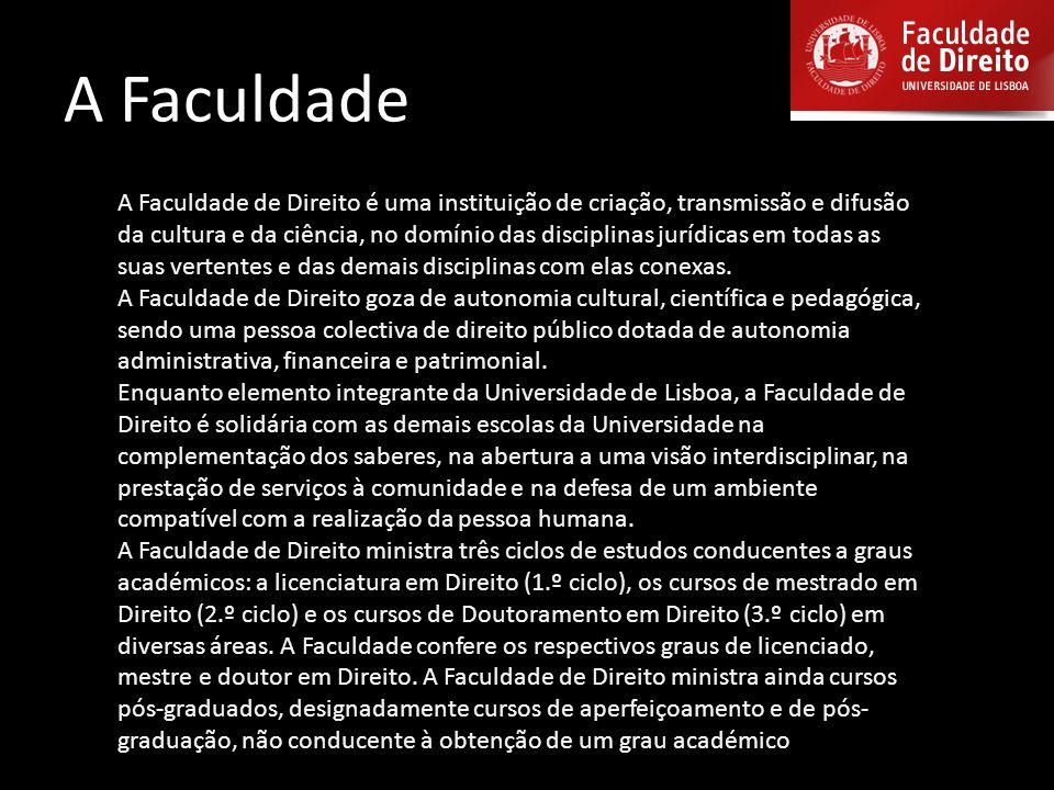 UNIVERSIDADE DE LISBOA - Faculdade de Direito de Lisboa