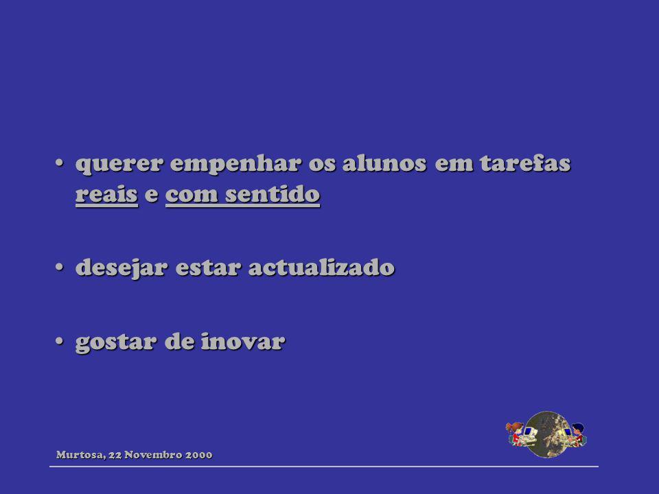 http://edvista.com/claire/ http://www.llrc.pitt.edu/llab/ http://www.eslcafe.com/ http://www.malhatlantica.pt/mat/ http://ednhp.hartford.edu/WWW/Nina/Beaches2.html http://www.aitech.ac.jp/~iteslj/cw/ Murtosa, 22 Novembro 2000