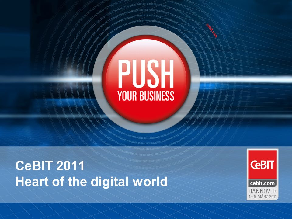 CeBIT 2011 Heart of the digital world
