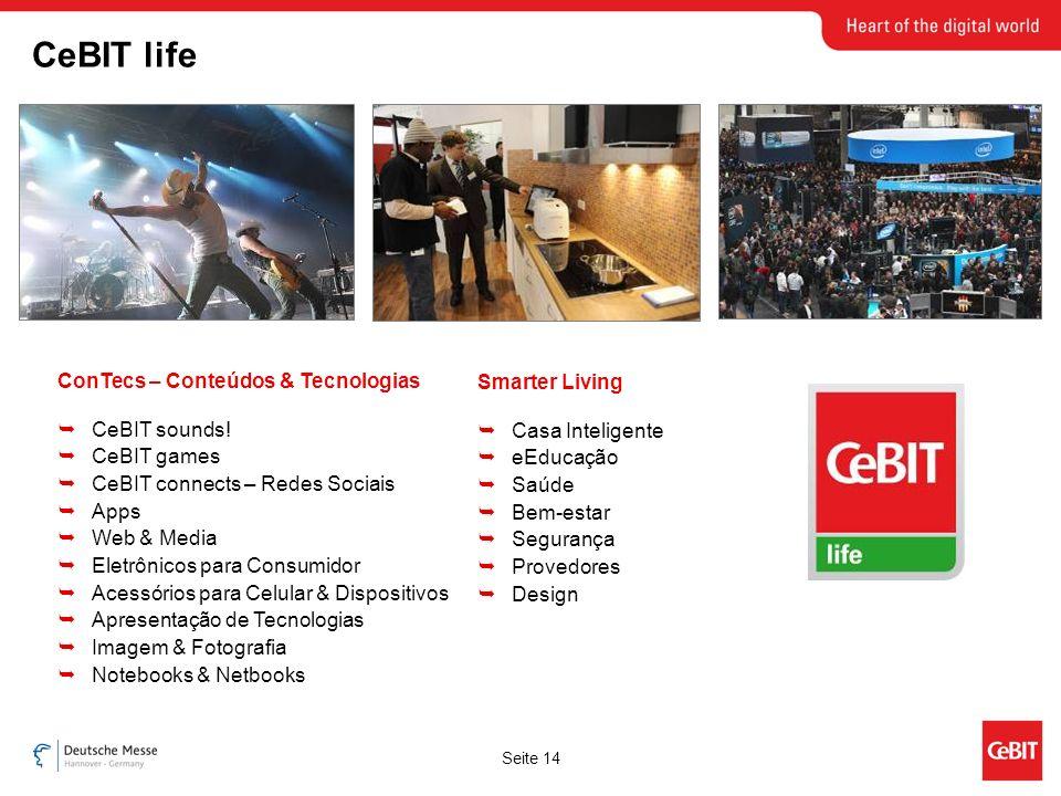 Seite 14 ConTecs – Conteúdos & Tecnologias CeBIT sounds.