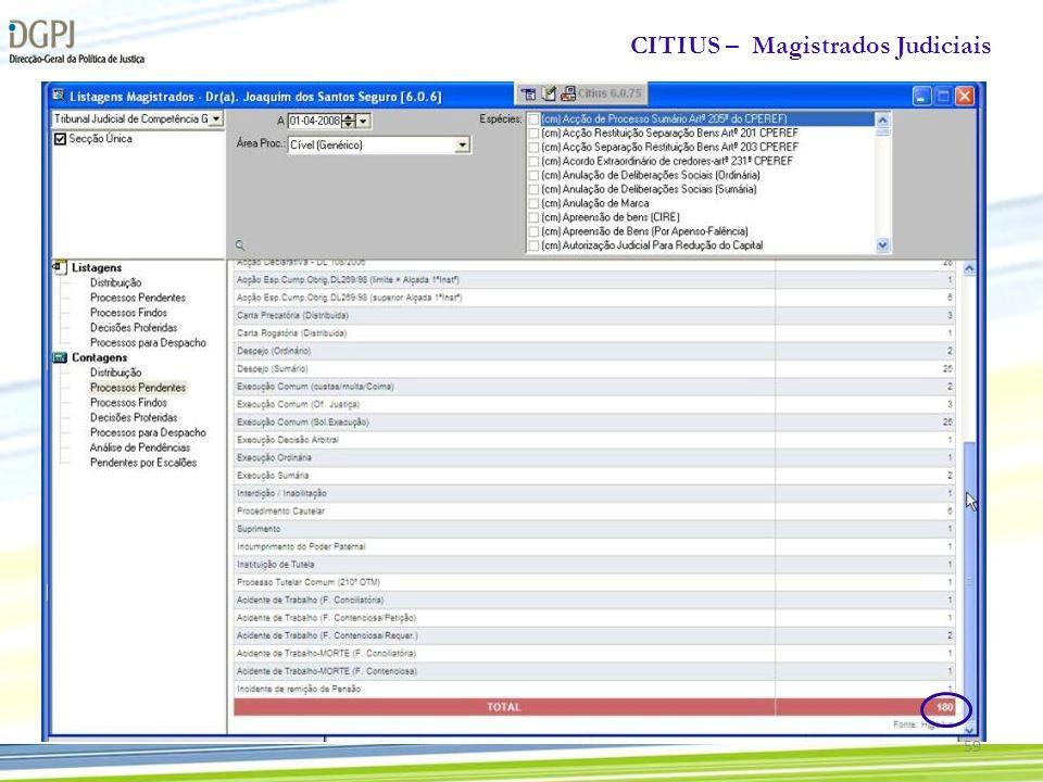 CITIUS – Magistrados Judiciais 59