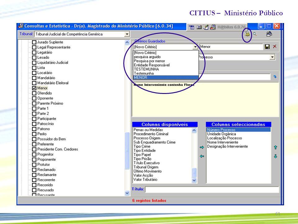 CITIUS – Ministério Público 61