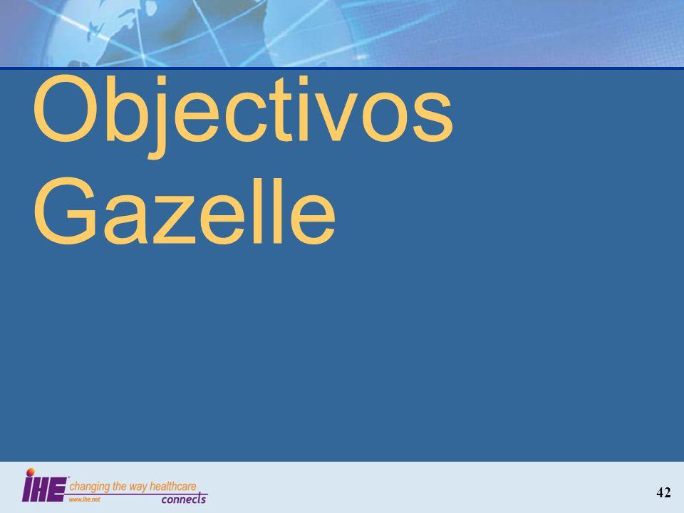 Objectivos Gazelle 42