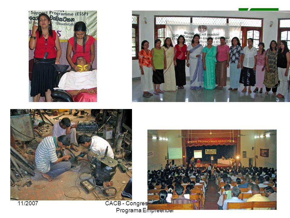 11/2007CACB - Congresso Nacional do Programa Empreender