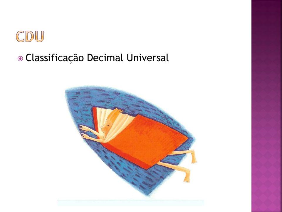 Classificação Decimal Universal