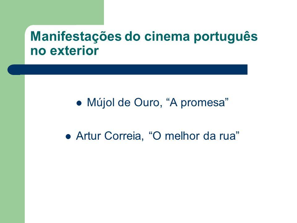 Manifestações do cinema português no exterior Mújol de Ouro, A promesa Artur Correia, O melhor da rua