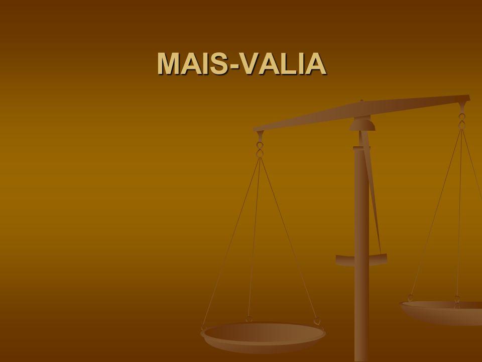 MAIS-VALIA