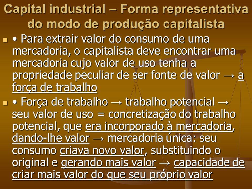 Para extrair valor do consumo de uma mercadoria, o capitalista deve encontrar uma mercadoria cujo valor de uso tenha a propriedade peculiar de ser fon
