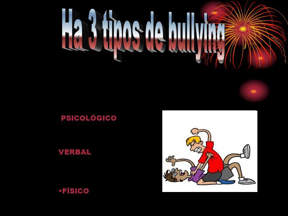 PSICOLÓGICO VERBAL FÍSICO