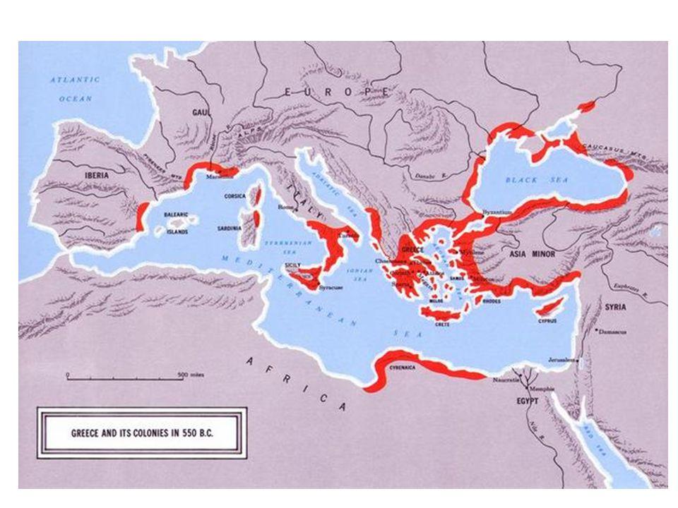 Arcaico Intensificação das atividades econômicas Conflitos sociais Monarquia, Aristocracia, Democracia