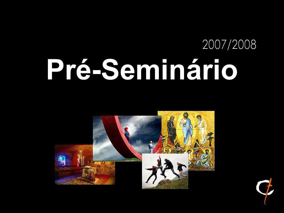 A caminho do Ano Propedêutico 2007 / 08 (Pe.