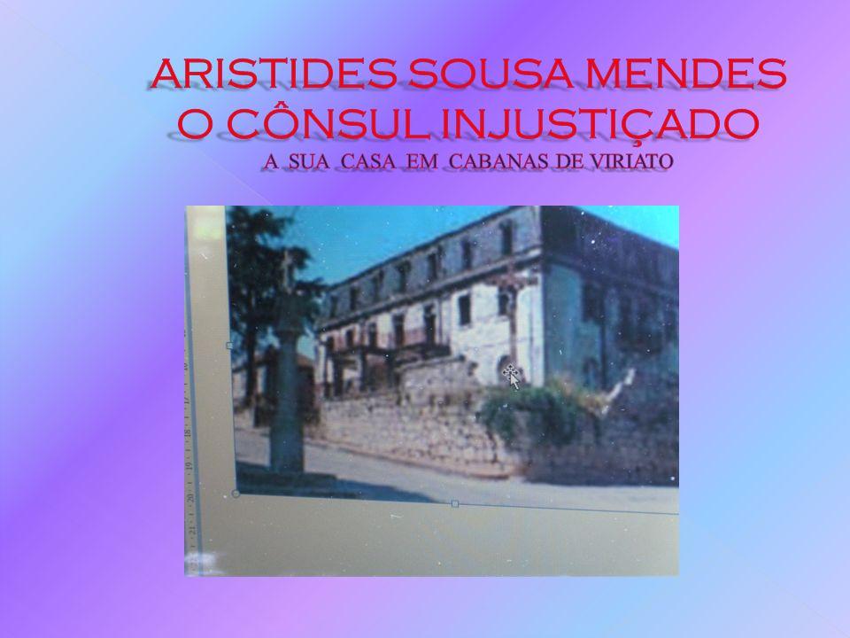 A SUA HISTÓRIA DE VIDA 1921/23: Aristides dirige temporariamente o consulado português em S.