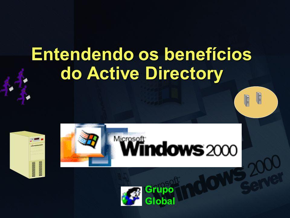 Entendendo os benefícios do Active Directory Grupo Global
