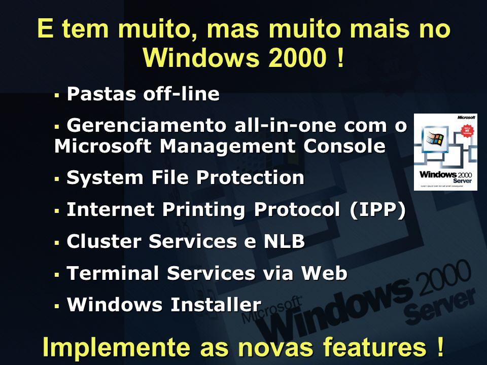 Pastas off-line Pastas off-line Gerenciamento all-in-one com o Microsoft Management Console Gerenciamento all-in-one com o Microsoft Management Consol