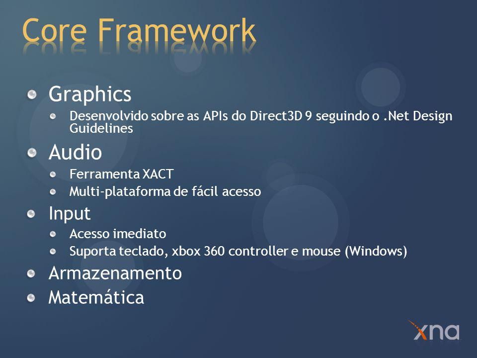 Information Management Modelo de Aplicação Content Pipeline Usando o controle do Xbox 360