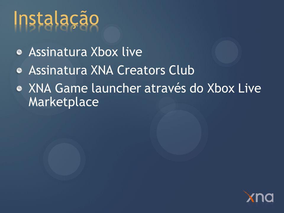 Templates de projeto para Xbox 360 F5 compila e envia para o console Remote debugging Breakpoints Watches Debug e Trace Não contempla Edit e Continue Debug Visualizers