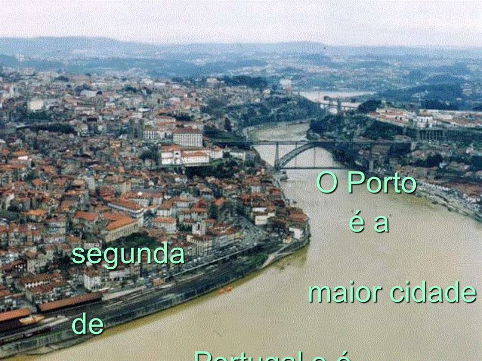 ONDE SE SITUA ? ONDE SE SITUA ? A cidade do Porto situa-se no litoral norte de Portugal, na margem direita do rio Douro. A área urbana do concelho do