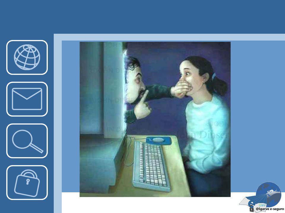Cuidados C – Cuidado! As pessoas online podem não ser quem dizem; H – Habituar-se a guardar para si a sua Informação pessoal; A – Atenção! Combinar en