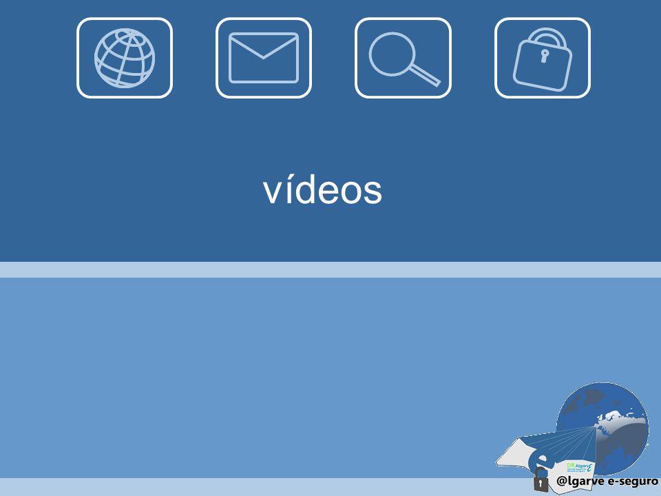 Cuidados 01-11-2013 Ter atenção aos temas explorados num chatroom Escolher um nome de utilizador (username) que não revele informação pessoal; Evitar