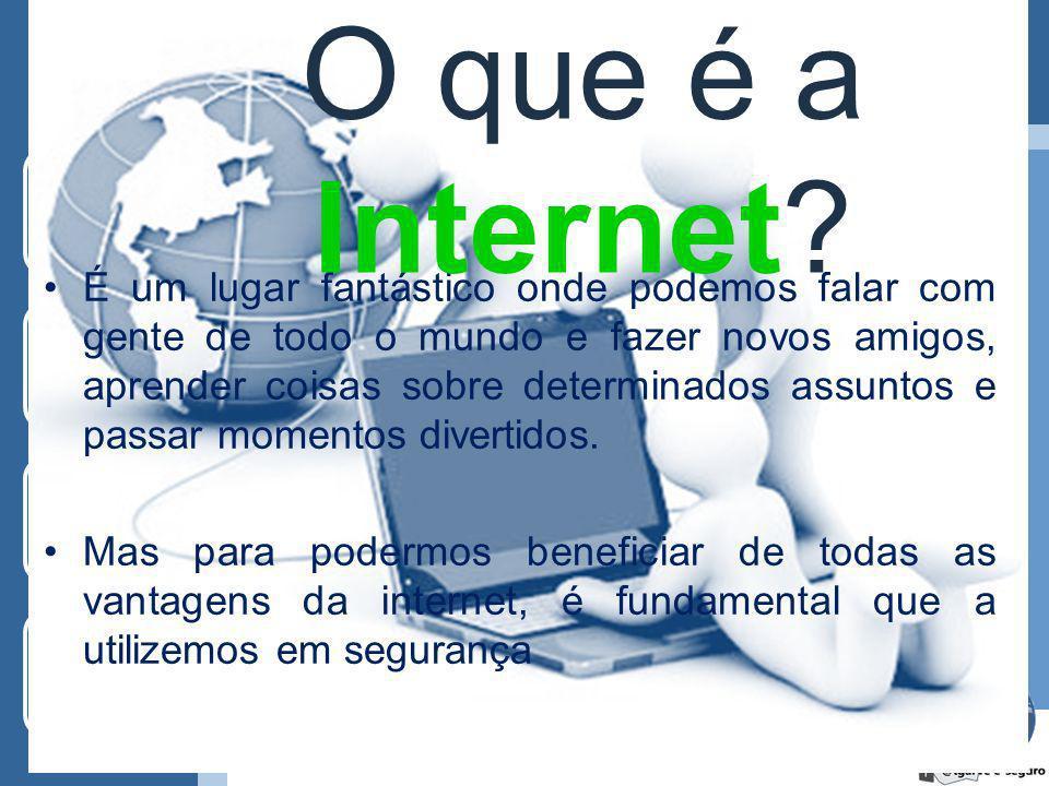 Segurança na Internet Palestra Alunos do Secundário e Encarregados de Educação