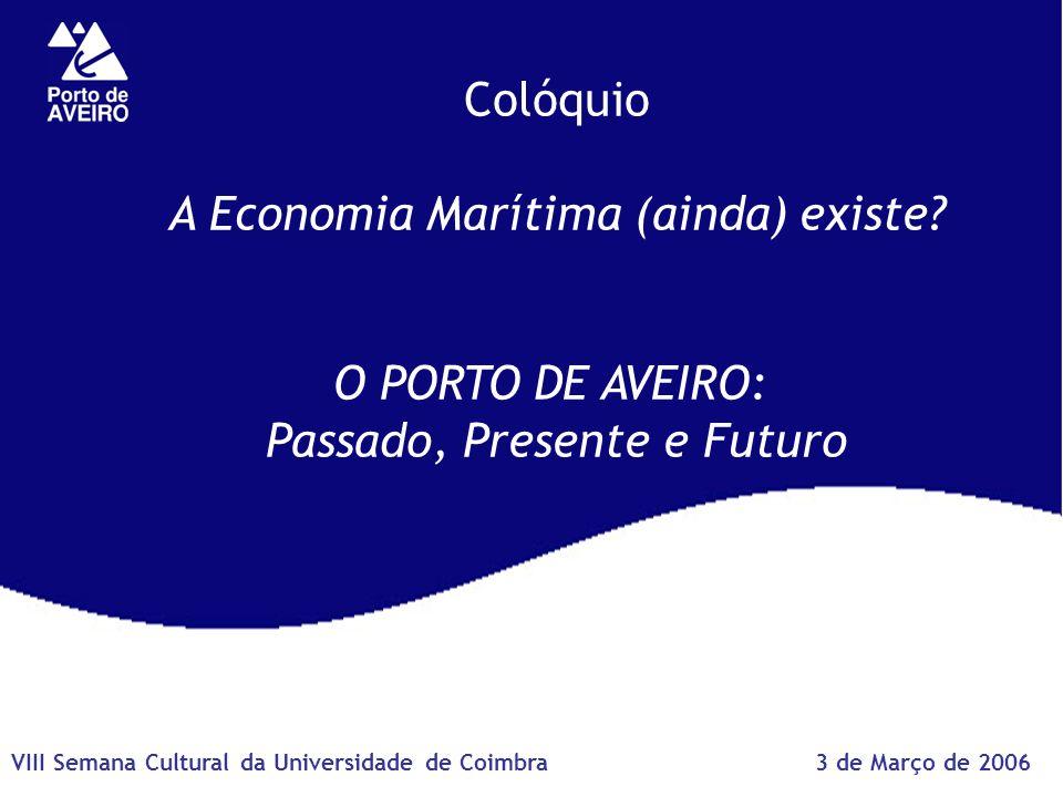 Colóquio A Economia Marítima (ainda) existe.