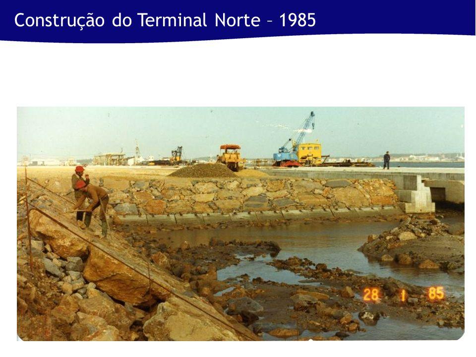 Construção do Terminal Norte – 1985