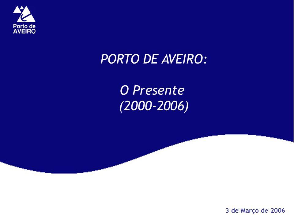 PORTO DE AVEIRO: O Presente (2000-2006) 3 de Março de 2006