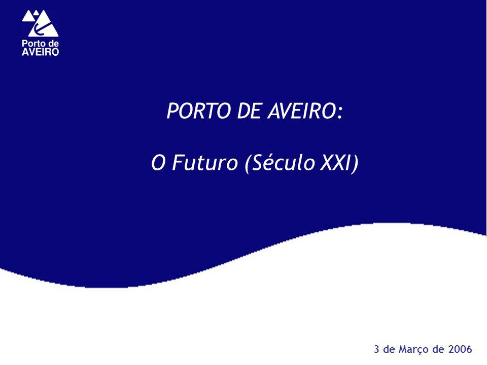 PORTO DE AVEIRO: O Futuro (Século XXI) 3 de Março de 2006