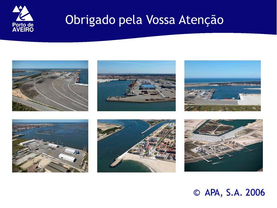 © APA, S.A. 2006 Obrigado pela Vossa Atenção