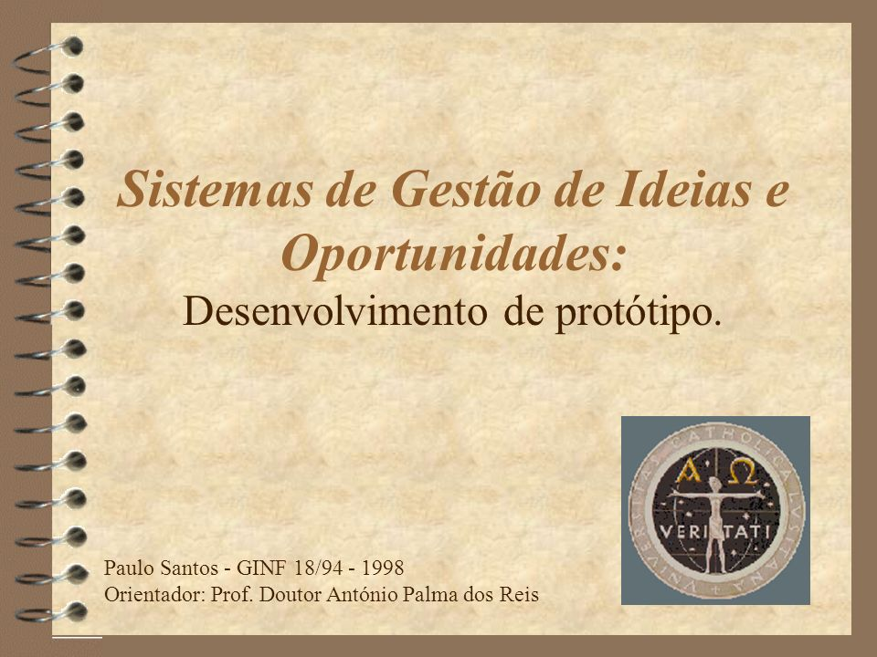 Sistemas de Gestão de Ideias e Oportunidades: Desenvolvimento de protótipo.