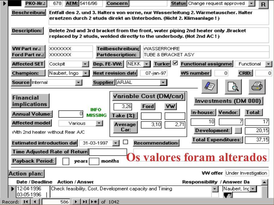 27 de Janeiro de 1999Paulo Santos15 / 27 5. O protótipo: A base de dados para o apoio à gestão de ideias Utilizadores simultâneos. Partilha da informa
