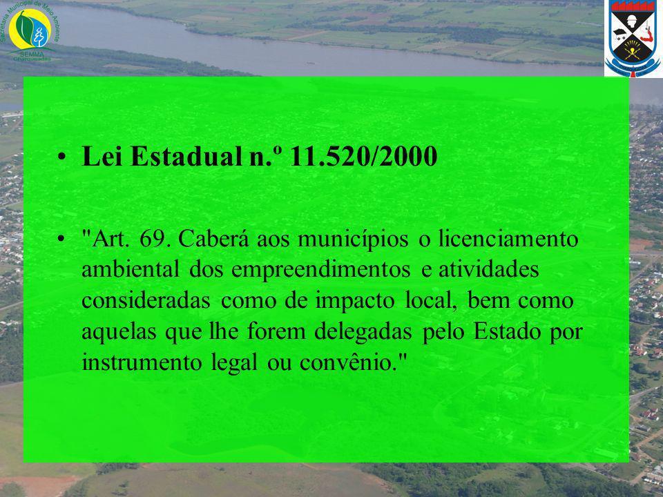 Lei Estadual n.º 11.520/2000