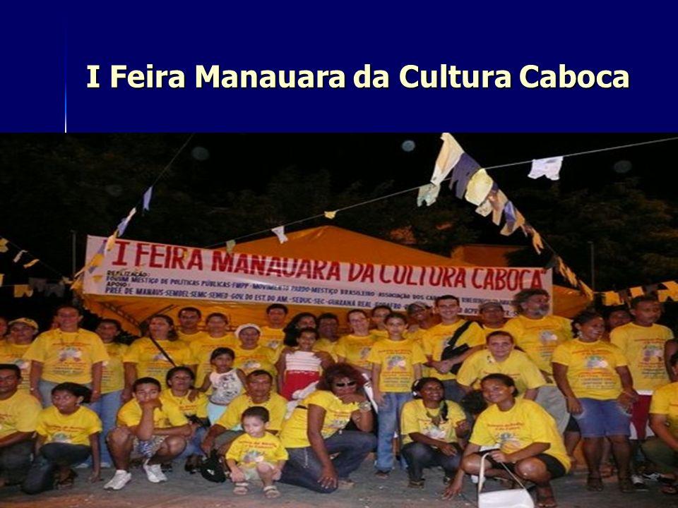 I Feira Manauara da Cultura Caboca