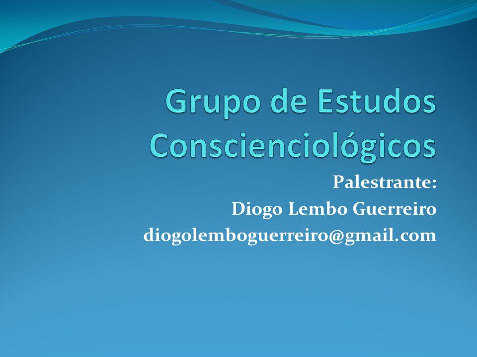 Palestrante: Diogo Lembo Guerreiro diogolemboguerreiro@gmail.com