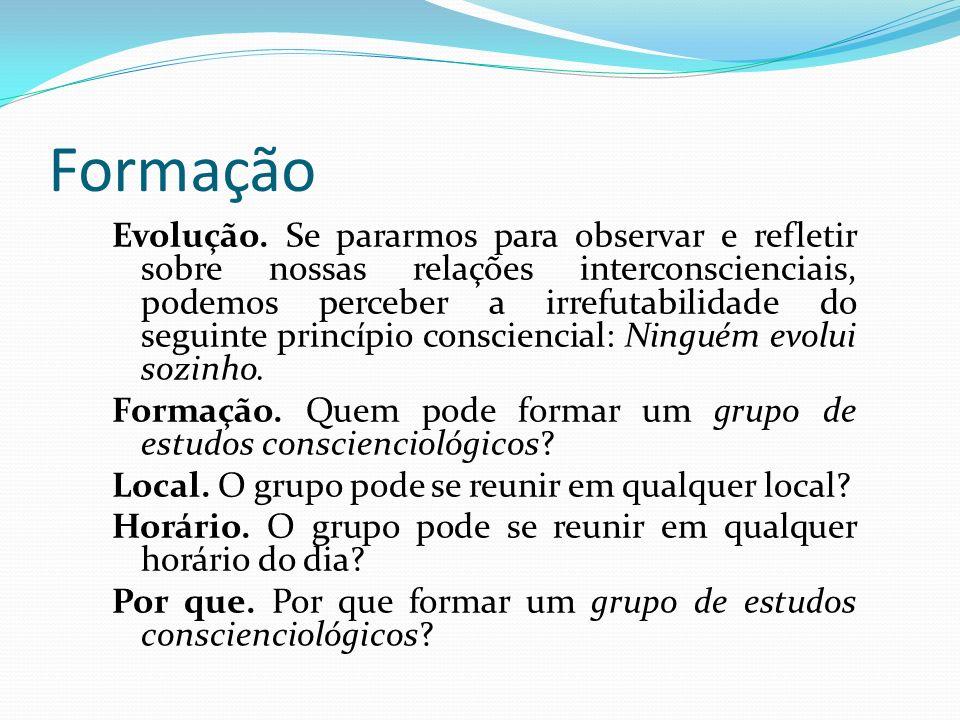 Grupocarmologia O grupo de estudos conscienciológicos técnico e mentalsomático, assentado em bases cosmoéticas, proporciona holopen- sene favorável aos acertos grupocármicos