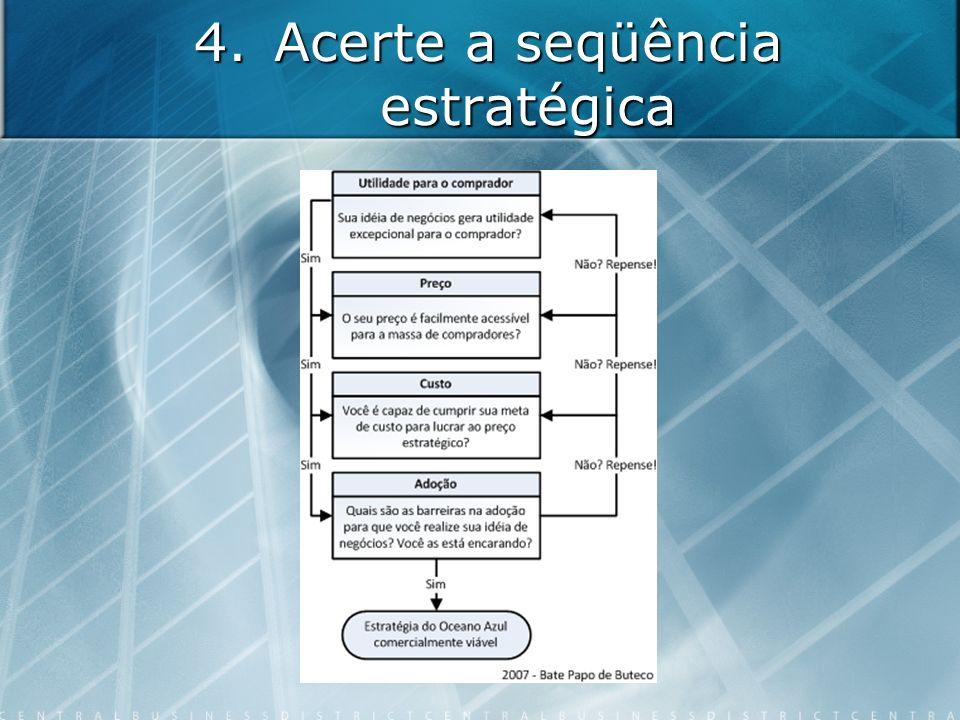 4.Acerte a seqüência estratégica
