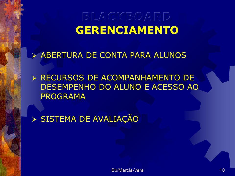 Bb/Marcia-Vera9 GERENCIAMENTO COMUNICAÇÃO COMPARTILHAMENTO