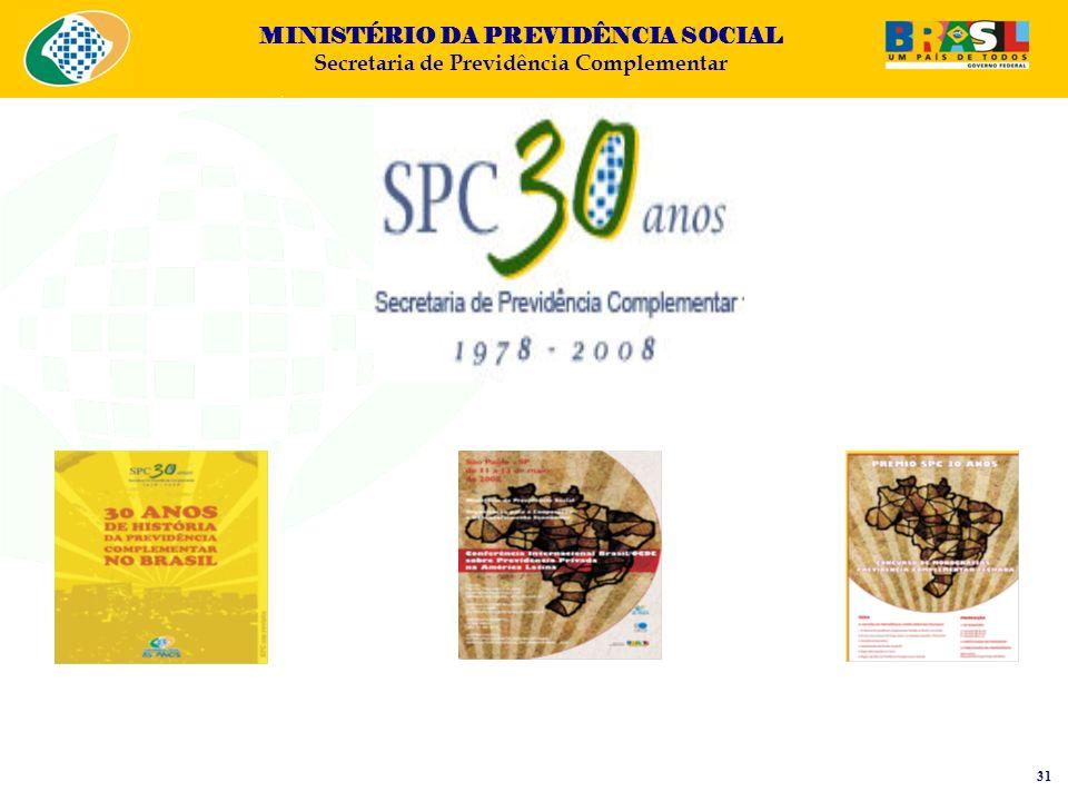 MINISTÉRIO DA PREVIDÊNCIA SOCIAL Secretaria de Previdência Complementar 31