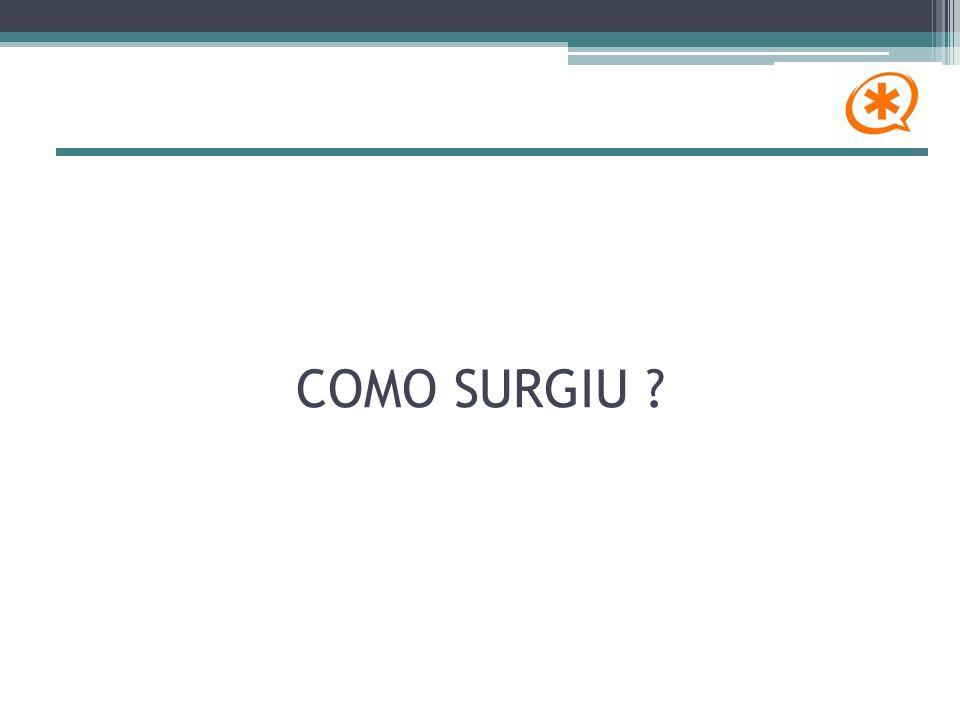 COMO SURGIU ?